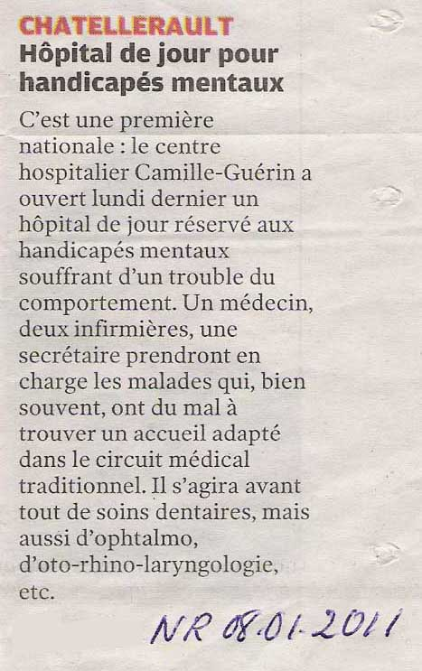 article hopital jour nr